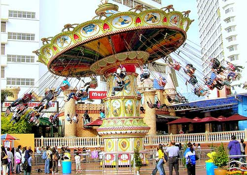 Genting Highland Outdoor Theme Park, Kuala Lumpur