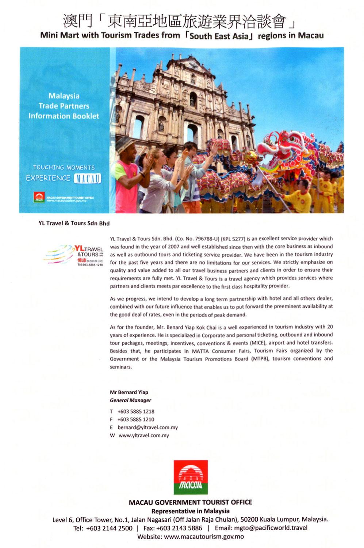 Testimonial Macau